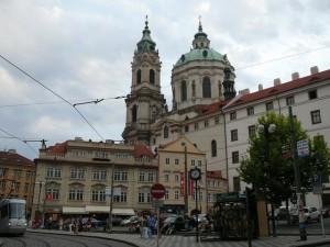 177 Plein Kleine Zijde met St. Nicolaaskerk