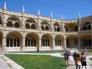 185 Mosteiro dos Jerónimos - kloostergang