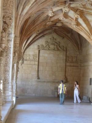 189 Mosteiro dos Jerónimos - kloostergang