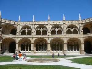 190 Mosteiro dos Jerónimos - kloostergang