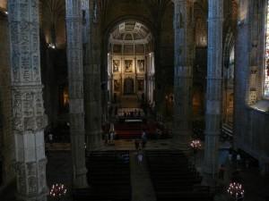 192 Mosteiro dos Jerónimos - Igreja Santa Maria