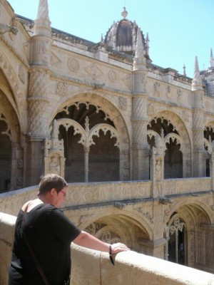 206 Mosteiro dos Jerónimos - kloostergang