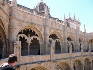 207 Mosteiro dos Jerónimos - kloostergang