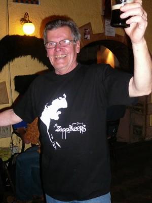 213 Jim got a Zappateers shirt