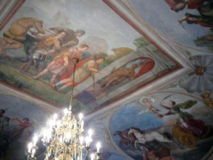 262 Slot Troja - Plafondschilderingen