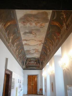 263 Slot Troja - Plafondschilderingen
