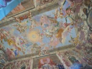 264 Slot Troja -  Fresco's in de Grote Zaal