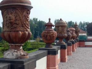 279 Slot Troja - muurdecoratie