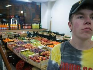 289 supermarkt op de hoek van de straat