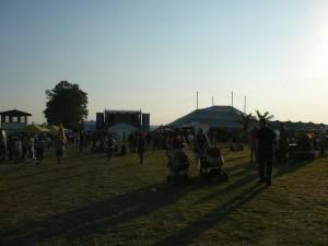309 festival area