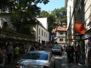 345 Joodse Wijk - straatje naar de Klaussynagoge