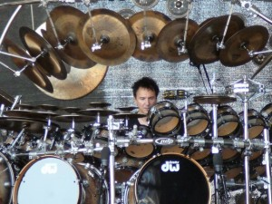 368 Terry Bozzio soundcheck