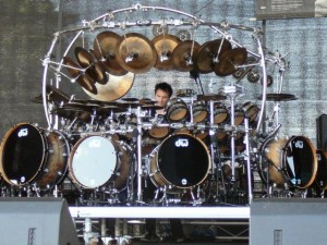 369 Terry Bozzio soundcheck