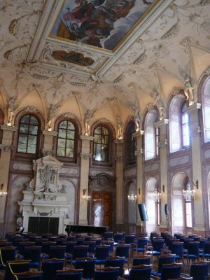 392 Kleine Zijde - Wallensteinpaleis - Grote Zaal - Senaat