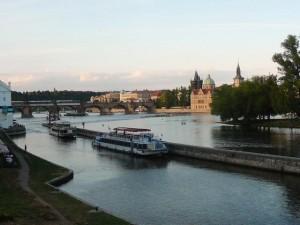 436 De Moldau en de Karelsbrug