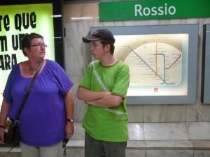 609 Wachten op de metro