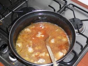 3. Breng het aan de kook.