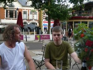 Auke en Luuk - De Graaf van Vlaanderen, Apeldoorn - 19 september 2009