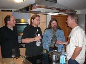 16 Georg, Torsten, Georg's friend & LudzNL