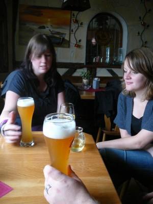 32 Back in Westerw?lder Hof - Ethell & Debbie