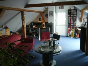37 And back in Georg's house - his lounge attic