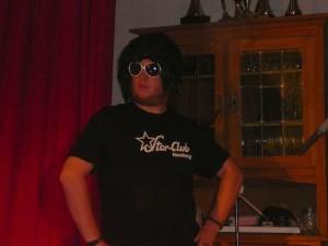 66 Billy as Elvis