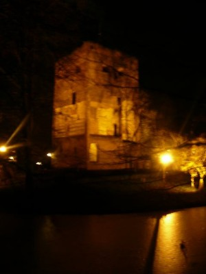 Kasteel Duurstede by night
