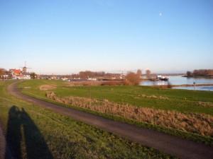 Wijk bij Duurstede & river Lek