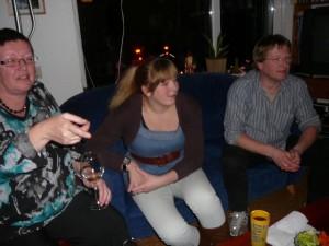 E, Ingrid & Robert