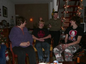 Marja, Freek, Luuk & Richard