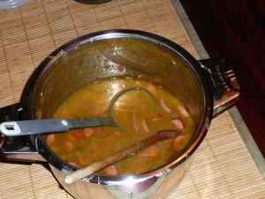 bazbo's erwtensoep met pompoen en kaneel - bazbo's pea soup with pumpkin and cinnamon
