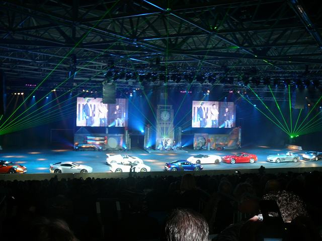 Top Gear live show - Rai, Amsterdam - Januari 23, 2010