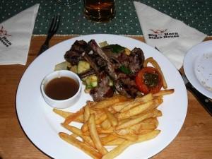 017 bazbos lamb dinner