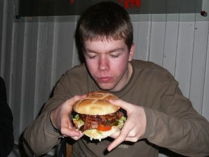 019 Luuk burger dinner