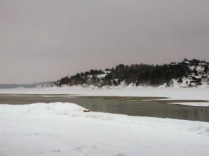 092 Larvik lagoon from the Kulturhus