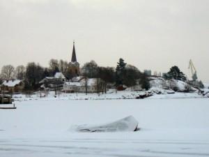 093 Larvik from the Kulturhus