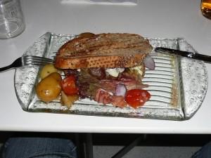 106 bazbos burger dinner