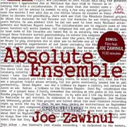 Joe Zawinul & Absolute Ensemble - Absolute Zawinul