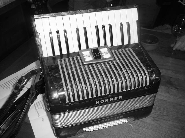 Bruno's Hohner accordeon