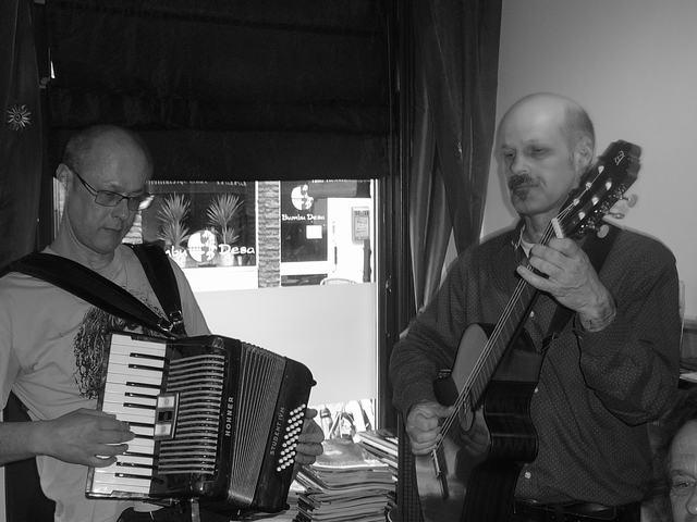 Bruno Rombouts & Lex Kemper - Art Café 'Sam Sam', Apeldoorn - April 4, 2010