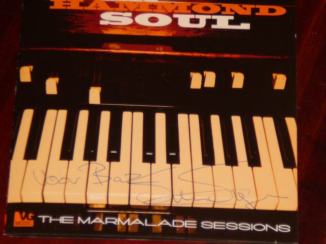 bazbo's signed copy of Sven Hammond Soul - The Marmelade Sessions