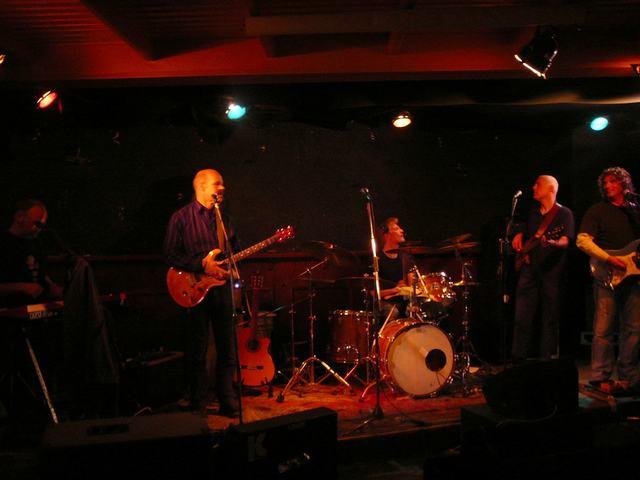 The FoolZ sound check - Bluescafé, Apeldoorn - May 7, 2010