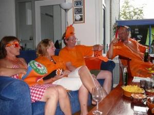 hidihi, Ingrid, Robert & Auke