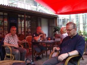 Jaap, Rolf, José en onbekende aardige meneer