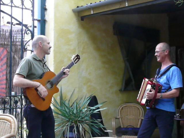 Lex & Bruno - Art Café 'Sam Sam', Apeldoorn - August 1, 2010