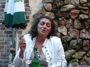 Balkan singer