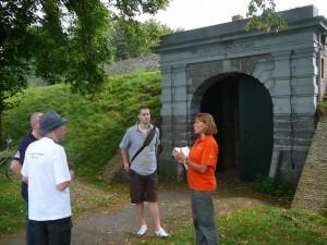 Een rondleiding in Fort Wierickerschans