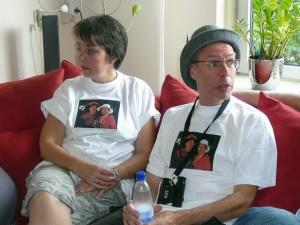 terug in Schiedam: Jolande en Arie