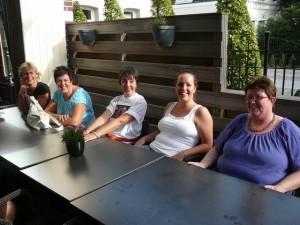 Diana, Els, Jolande, Karin & E