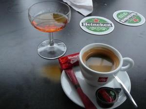 koffie met cognac